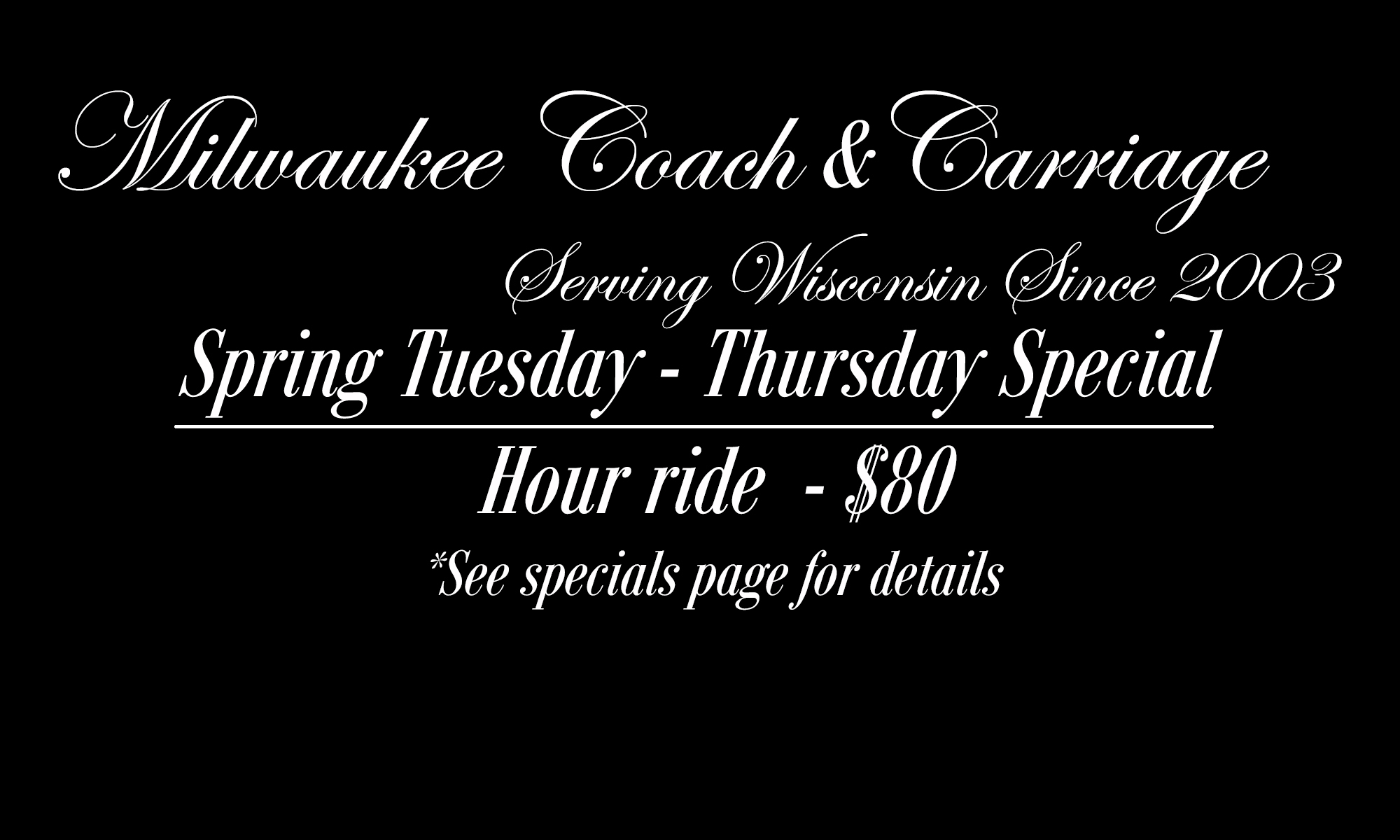 Milwaukee Coach & Carriage